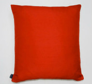 Plain Silk Cushion - Red