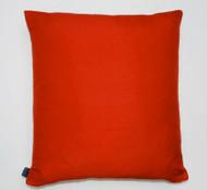 Plain Silk Cushion - Red