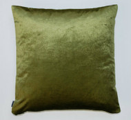 Silk Velvet Cushion - Deep Green - 50cm x 50cm