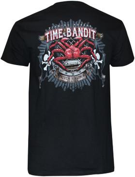 Time Bandit King Crab Flag T Shirt
