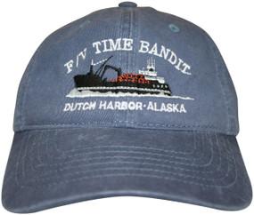 F/V Time Bandit Storm Blue Hat - Front View