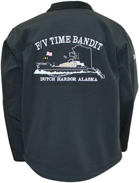F/V Time Bandit Men's Light Weight Granyte Jacket