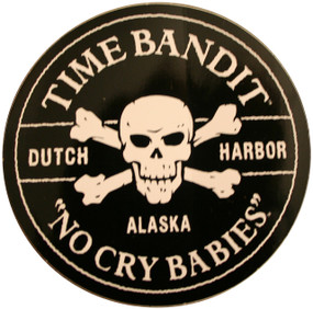 "No Cry Babies Sticker 3"" Diameter"