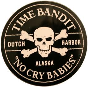 """No Cry Babies Sticker 3"""" Diameter"""