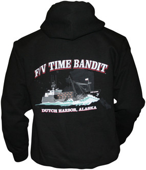 F/V Time Bandit  Full Zip Hoody