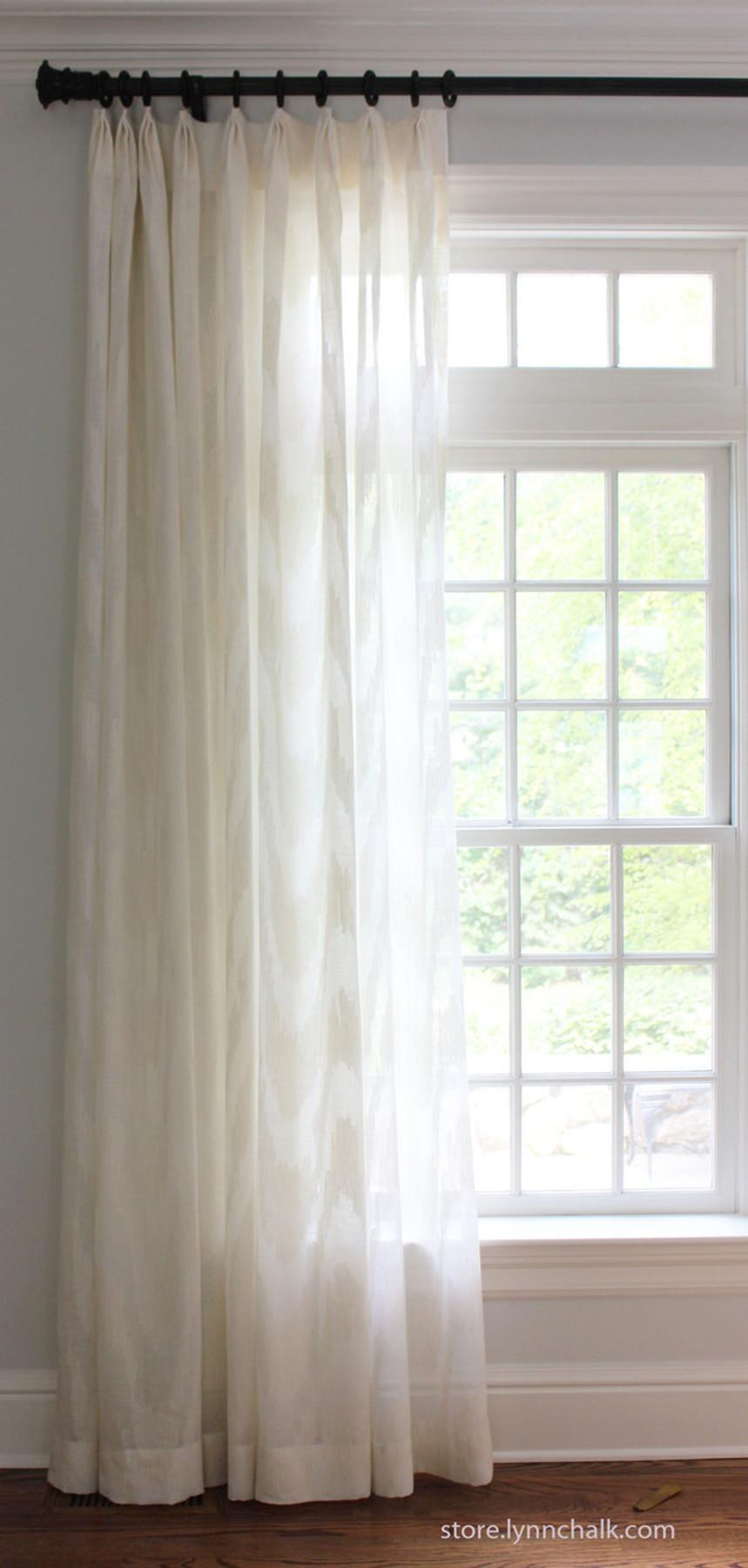 custom sheer drapes by lynn chalk in cowtan u0026 tout marina in - Sheer Drapes