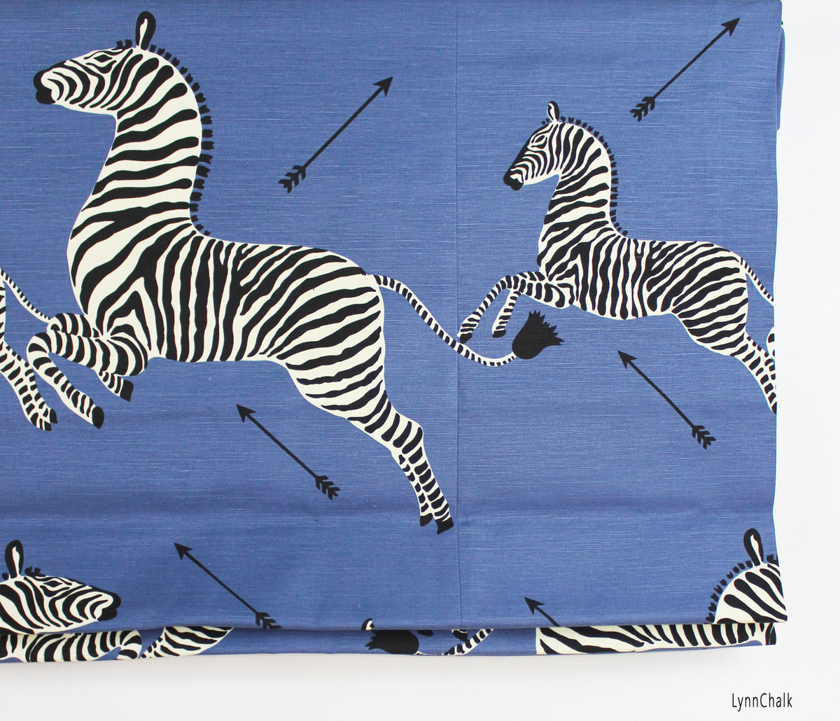 Scalamandre Zebras in Denim