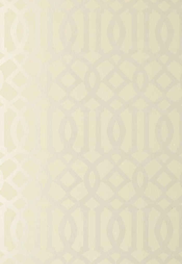 Schumacher Kelly Wearstler Imperial Trellis Alabaster Wallpaper