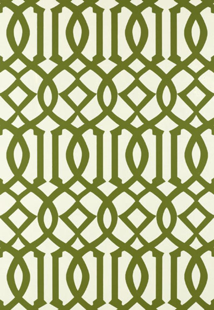 Schumacher Kelly Wearstler Imperial Trellis Treillage Wallpaper