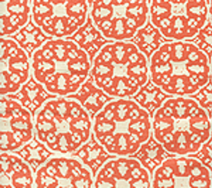 Quadrille Nitik II Orange on Tint