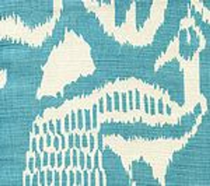 Quadrille China Seas Bali II Turquoise on Tint