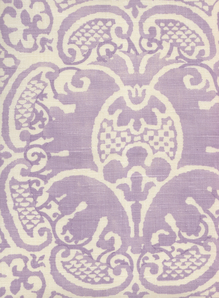 Quadrille Veneto Neutral Soft Lavender on Tint