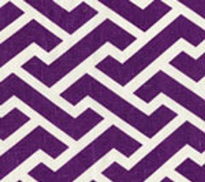 Quadrille China Seas Aga Reverse Purple on Tint
