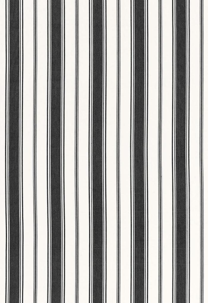 Alessandra Branca For Schumacher Branca Stripe Noir