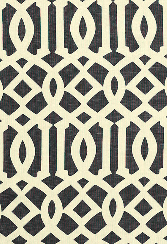 Kelly Wearstler Fabric Imperial Trellis Midnight