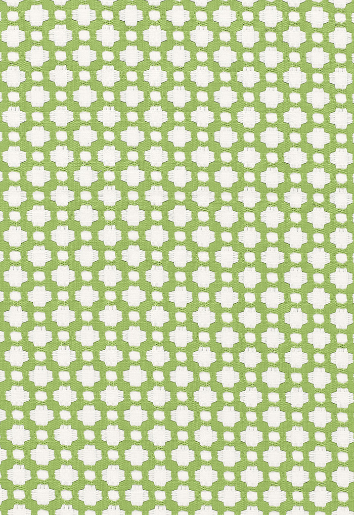 Schumacher Celerie Kemble Betwixt Leaf/Blanc