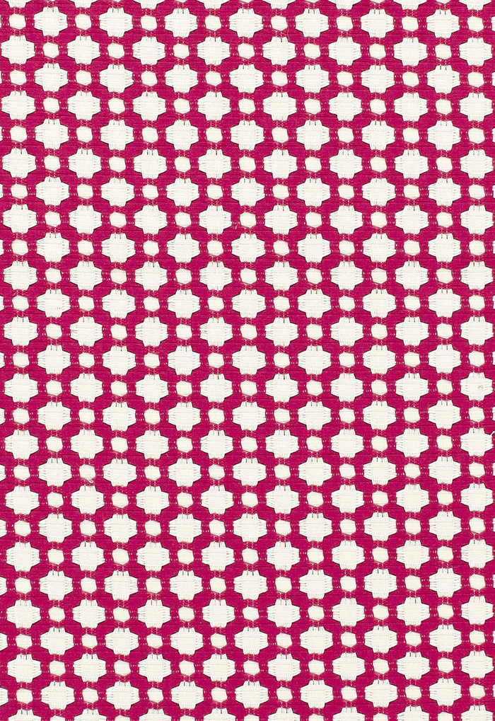Schumacher Celerie Kemble Betwixt Magenta/Natural