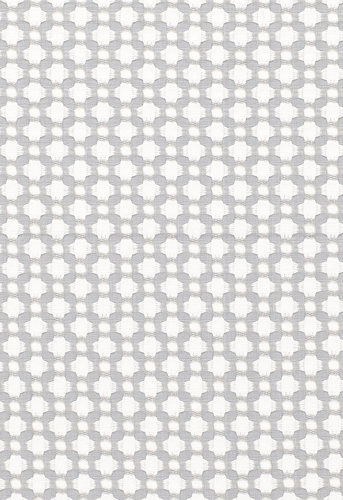 Schumacher Celerie Kemble Betwixt Zinc/Blanc