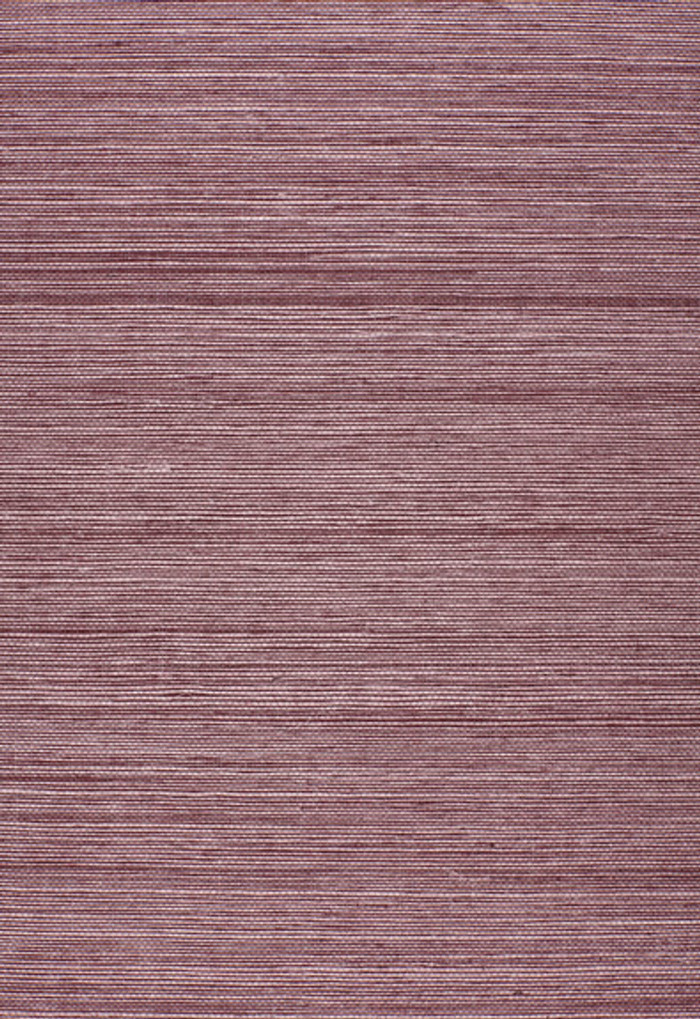 Schumacher Onna Sisal Wallpaper Purple