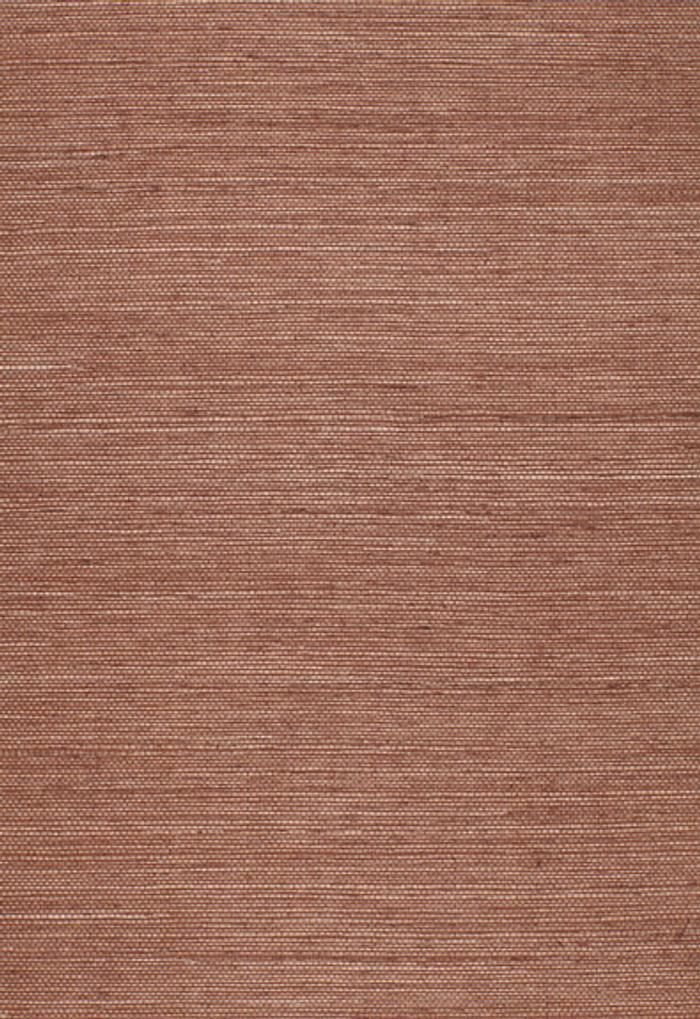 Schumacher Onna Sisal Wallpaper Brown