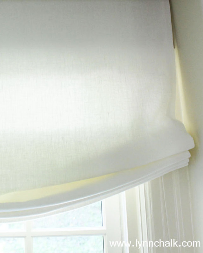 Roman Shades in Linen in 35 Gorgeous Colors