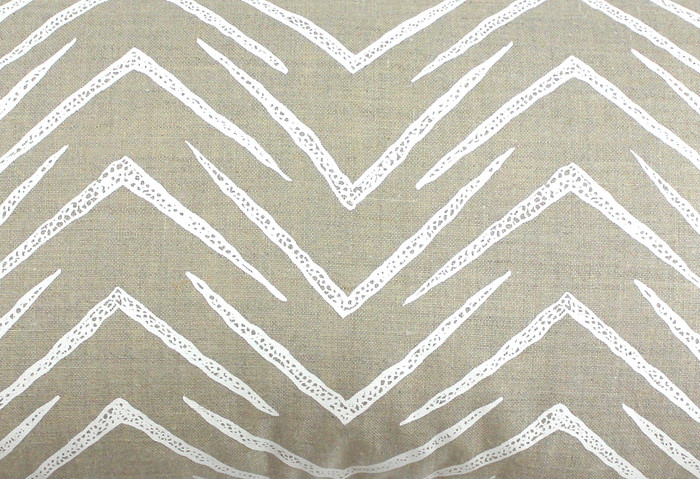 Groundworks Herringbone Jute White