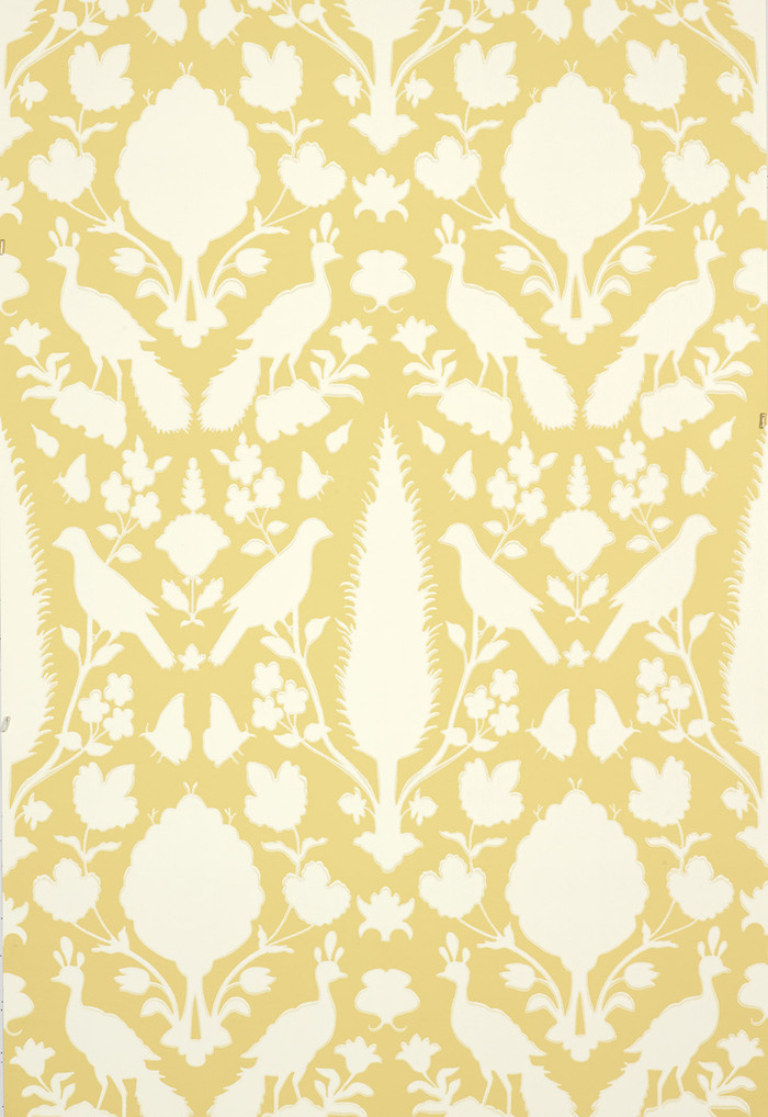 Schumacher Chenonceau Wallpaper Buttercup