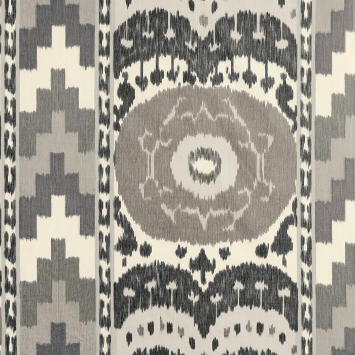 Samarkand Ikat II Charcoal