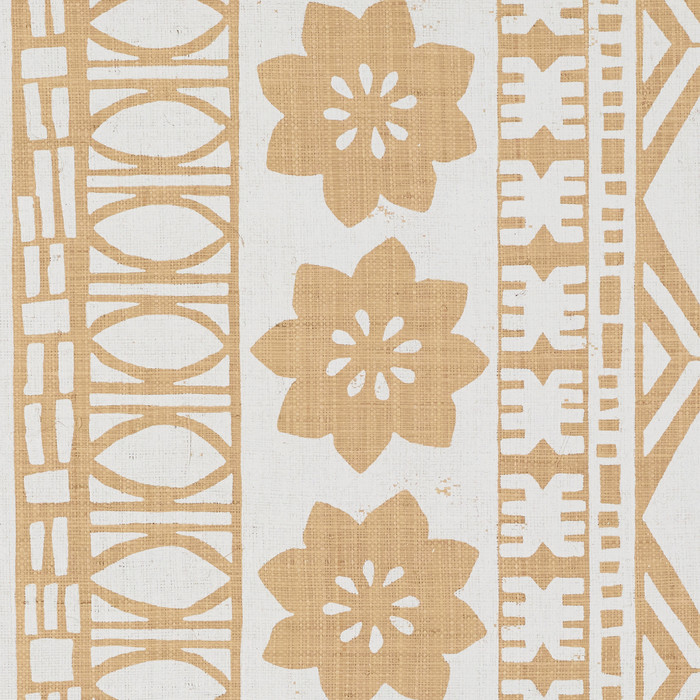 Schumacher Mary McDonald Mrs. Howell Natural Grasscloth Wallcovering 5007330