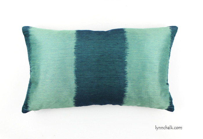 ON SALE Celerie Kemble Bagan in Peacock 12 X 24 Lumbar Pillow   -Only 1 Available at This Sale Price