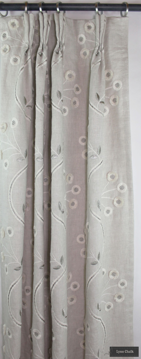 Anna French Olympus Embroidery Drapes