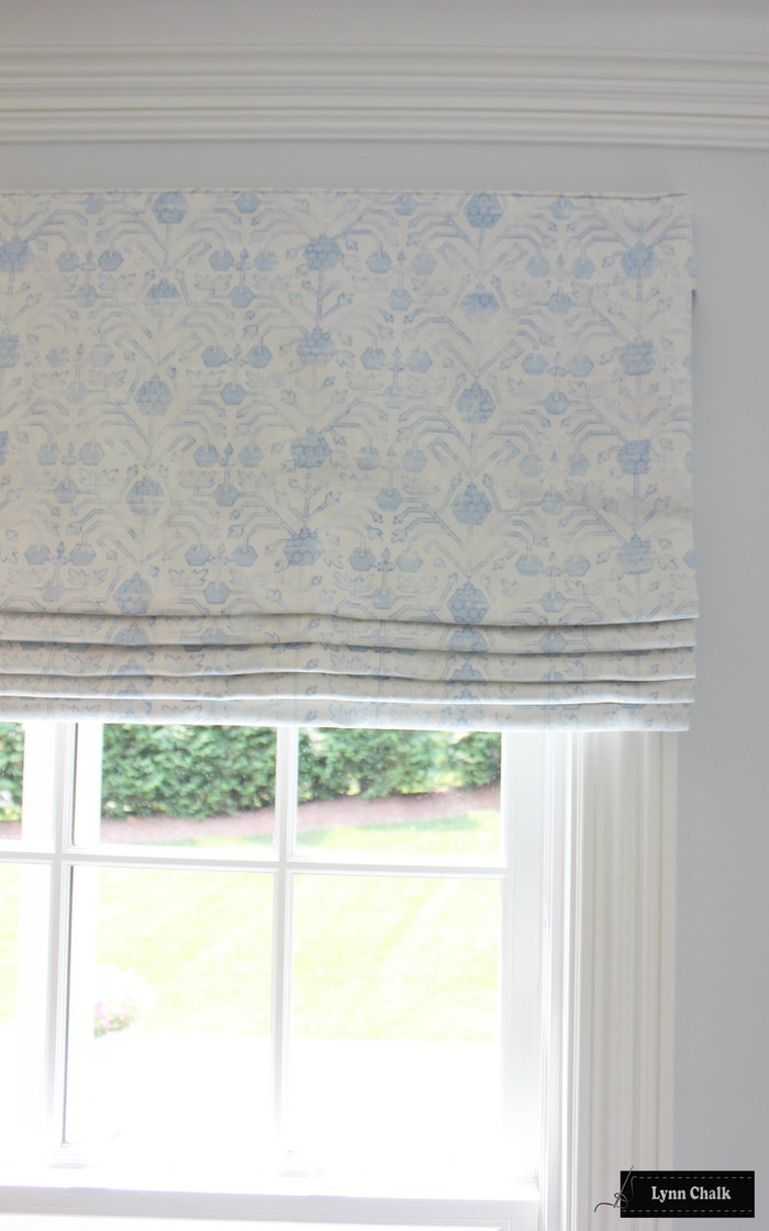 Zak & Fox Khotan Roman Shade (shown in Toz-comes in other colors)