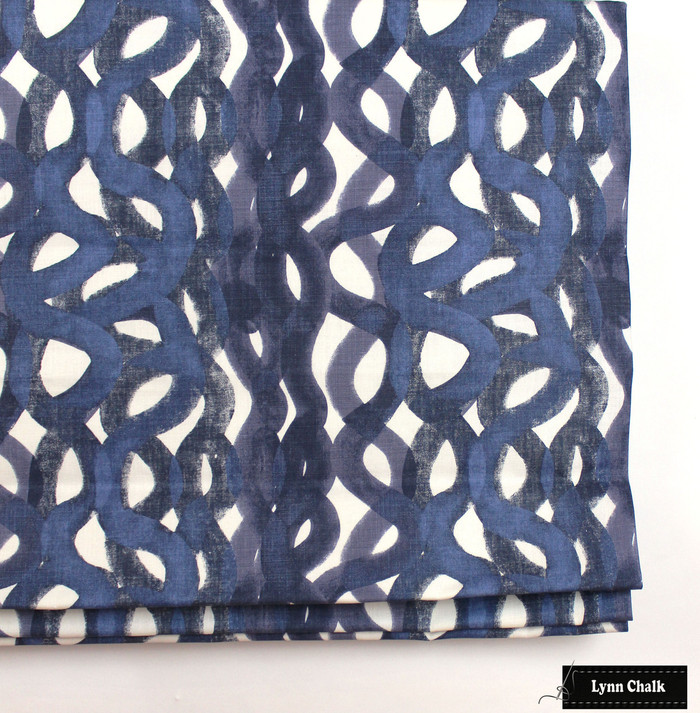 Christopher Farr Fathom Roman Shades (shown in Indigo - comes in other colors)