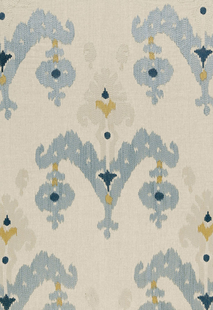 Schumacher Martyn Lawrence Bullard Raja Embroidery in Stone 65813