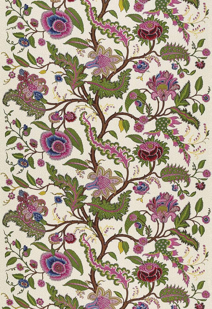 Martyn Lawrence Bullard Sinhala Linen Print Jewel