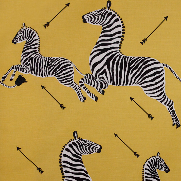 Scalamandre Zebras 36378-002 Yellow