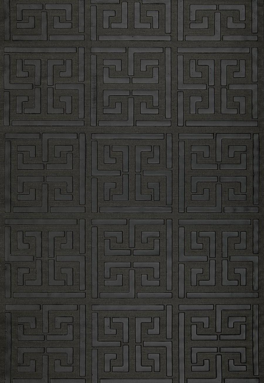 schumacher greek key sisal wallpaper - schumacher greek key sisal wallpaper jet