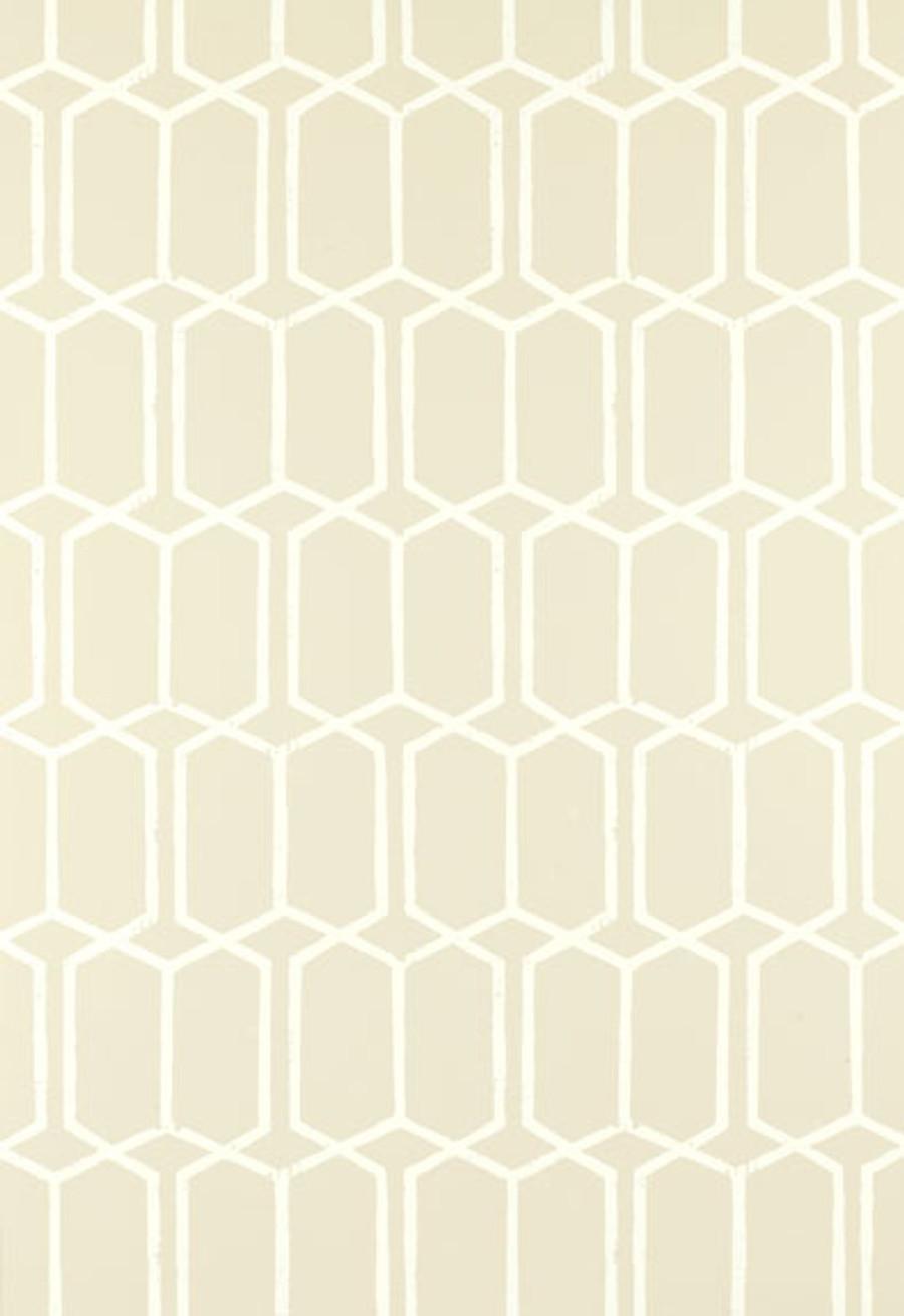 schumacher modern trellis wallpaper alabaster - Trellis Wall Paper