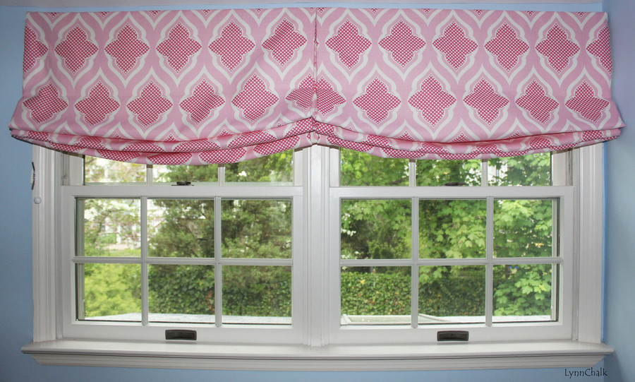 Christopher Farr Venecia Relaxed Roman Shades in Nursery