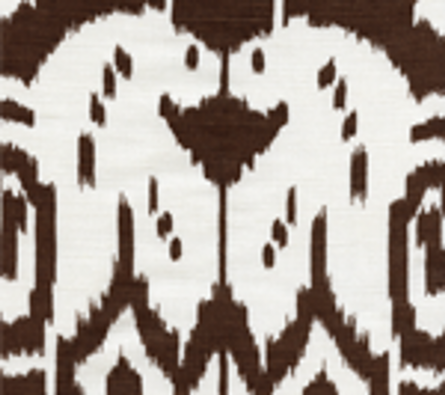Quadrille Island Ikat Brown
