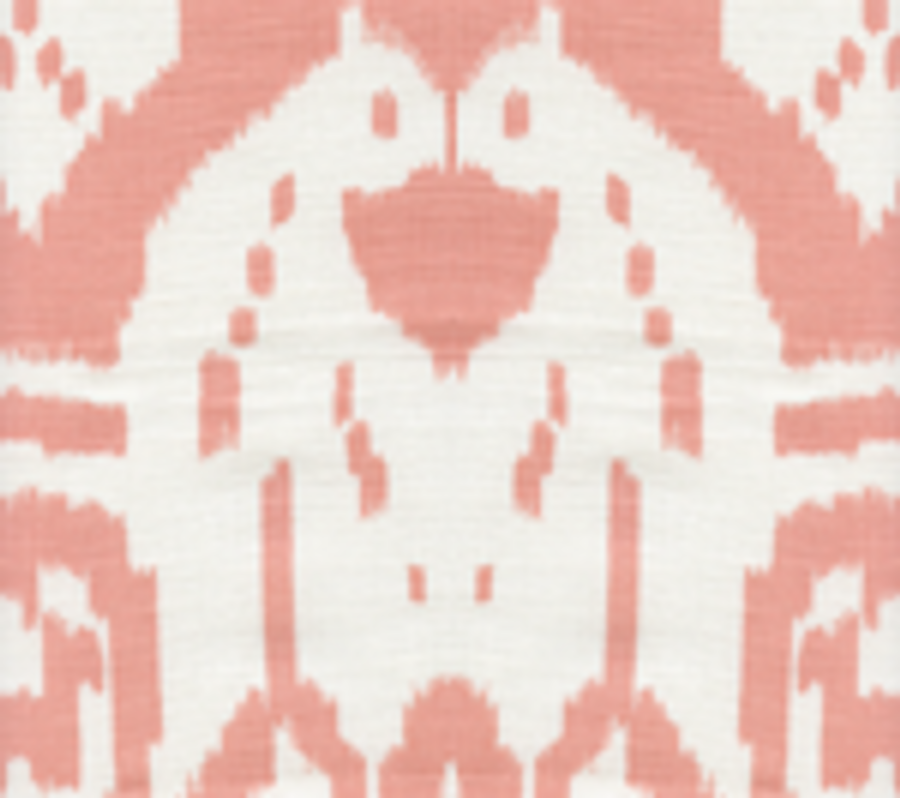 Quadrille Island Ikat Light Salmon