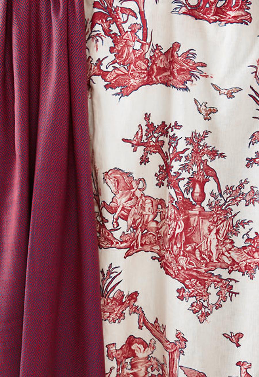 Alessandra Branca For Schumacher Branca Stripe Fuchsia