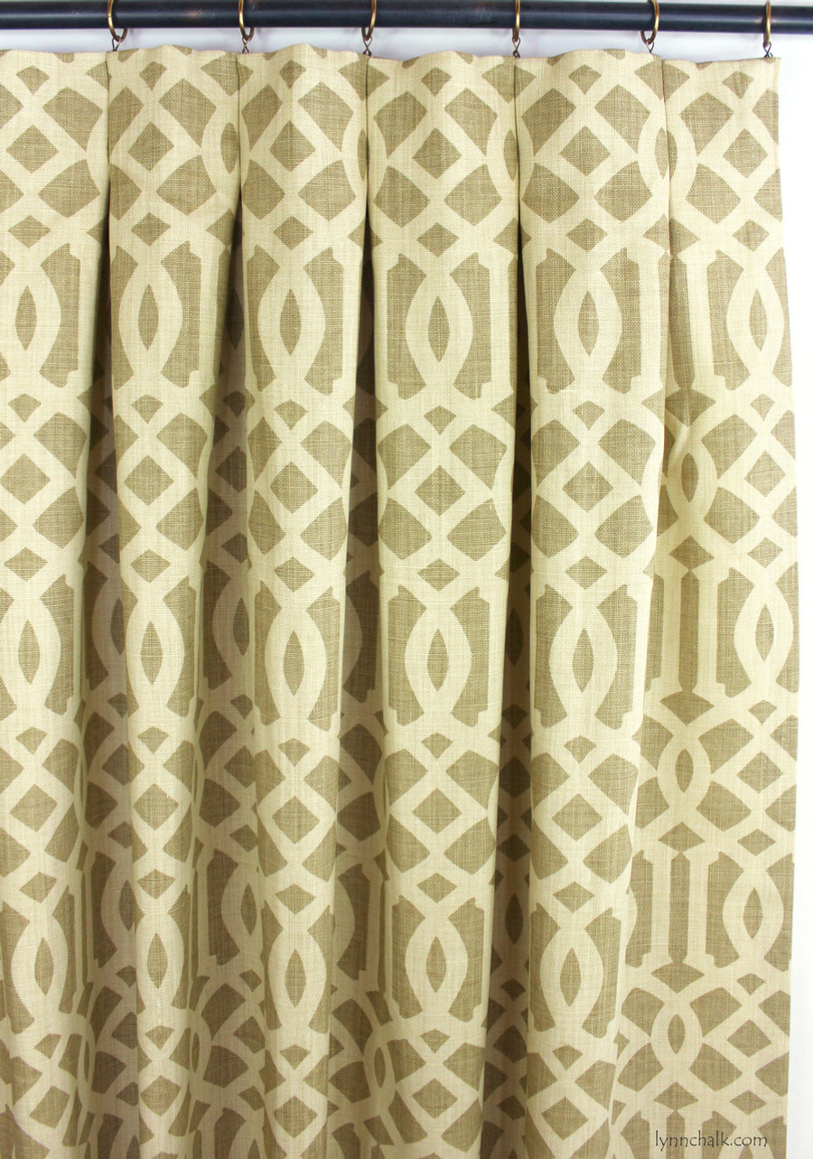 Schumacher Kelly Wearstler Imperial Trellis II Java 174413