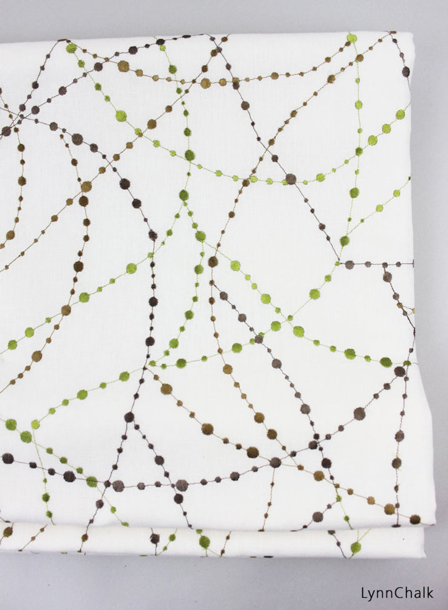 Jonathan Adler Star Gazer Roman Shades (Shown in Olive-comes in other colors)