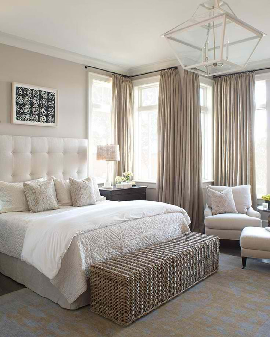 Beautiful Bedroom Drapes (KB Home)