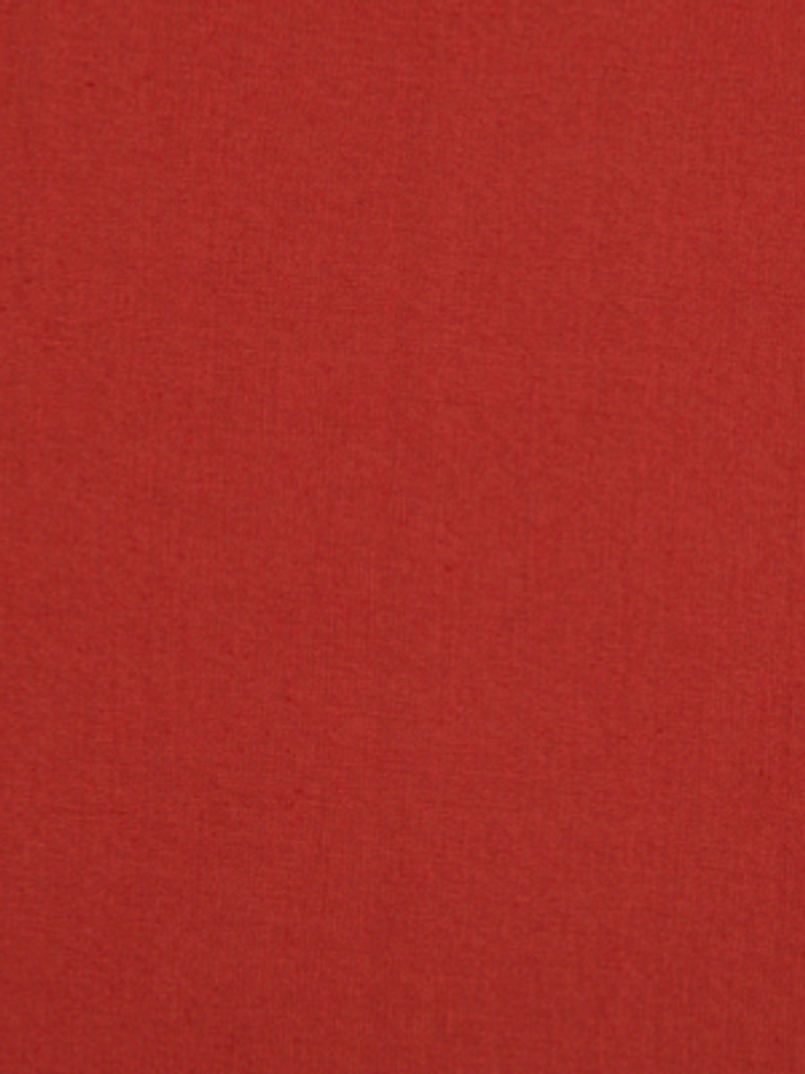 Milan Solid Linen Red Hot