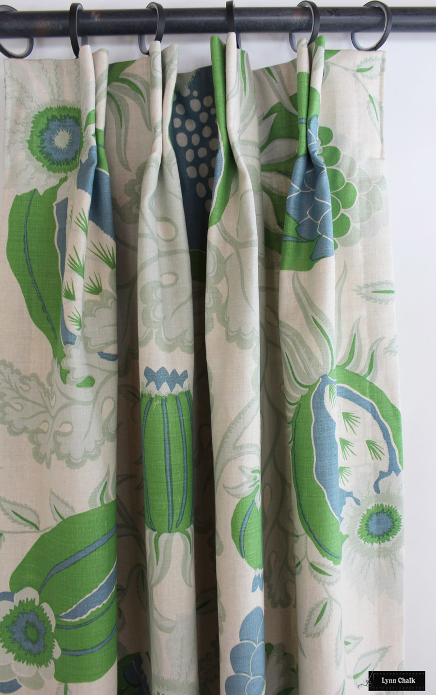 Christopher Farr Carnival Drapes (shown in Green-comes in several colors)