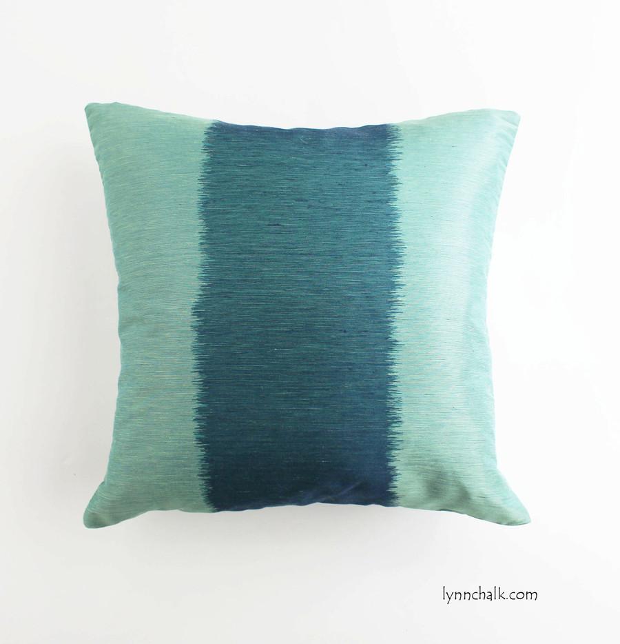 Bagan Pillow 18 X 18 in Peacock