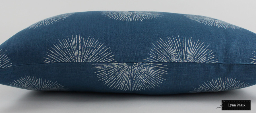 Kelly Wearstler Sea Urchin Custom Pillows in Ivory/Ebony 12 X 22 (Both Sides)