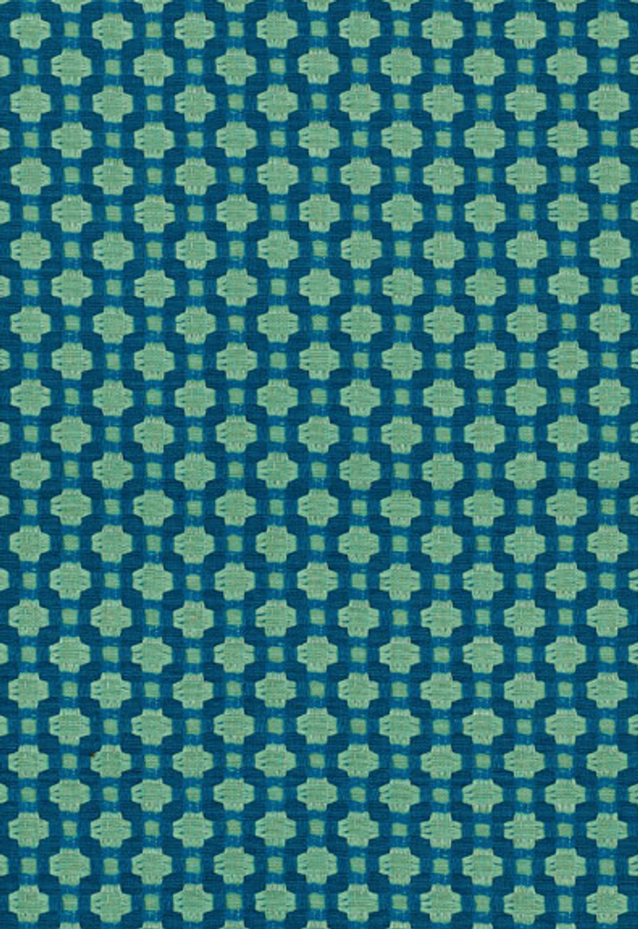 Schumacher Celerie Kemble Betwixt 62613 Peacock Seaglass